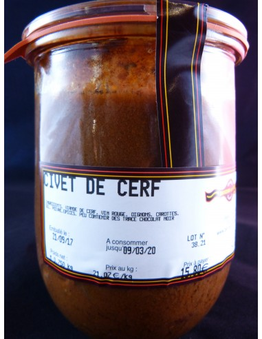 CIVET DE CERF