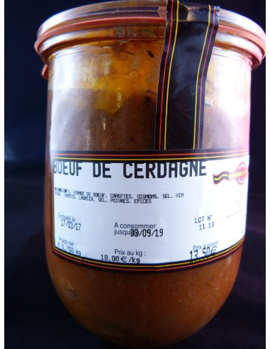 BOEUF DE CERDAGNE AUX CAROTTES EN...